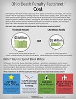 Publications - OTSE Fact Sheet on the Cost of Ohio's Death Penalty