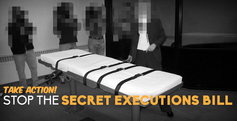 Secret Executions Bill Action