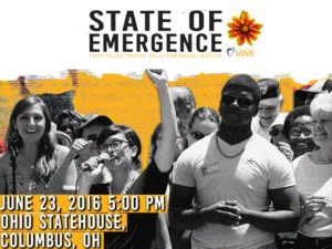 State of Emergence: Faith Filled People Rally for Racial Justice @ Ohio Statehouse   Columbus   Ohio   United States